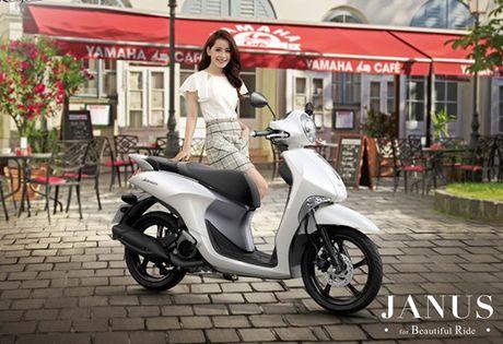 Yamaha tu tin vao doanh so ban cua Janus - Anh 1