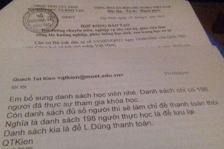 Trung tam Ho tro Dao tao va Cung ung nhan luc: Tai sao can bo, nhan vien lai keu cuu len co quan chu quan? - Anh 2