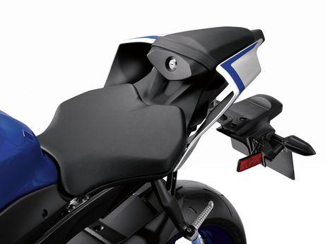 Yamaha ra mat R6 2017 - giong R1, dong co cu, quickshift tuy chon - Anh 6