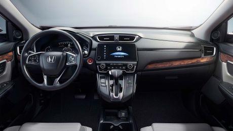 Honda ra mat CR-V 2017: duoi xe dep hon, them dong co tang ap 1.5L, van 5 cho ngoi - Anh 3