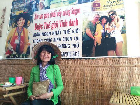 Co Ut ban chuoi nuong duoc the gioi vinh danh - Anh 1