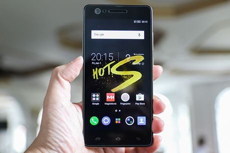 Khui hop Infinix Hot S: Chip 8 nhan toc do 1,3GHz, cam bien van tay - Anh 5