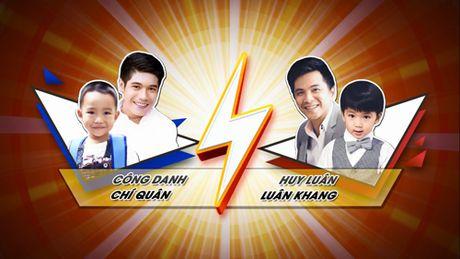 Huy Luan hoi ngo Bui Cong Danh cung con tham gia truyen hinh thuc te - Anh 1