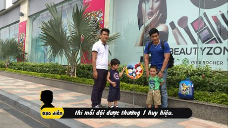 Huy Luan hoi ngo Bui Cong Danh cung con tham gia truyen hinh thuc te - Anh 5