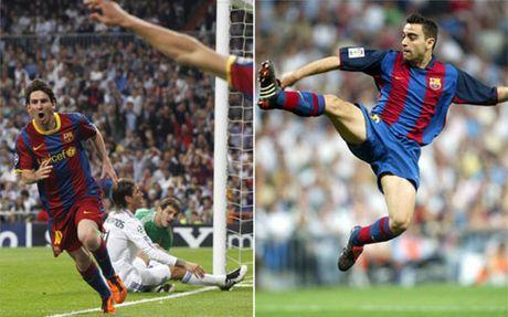 Messi re qua 5 sao Real xep duoi cu lop bong cua Xavi - Anh 1