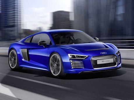 Audi R8 e-tron bi khai tu sau 1 nam ra mat - Anh 1