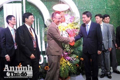 Chuc mung 100 nam thanh lap Hoi Thanh Tin Lanh Ha Noi - Anh 1