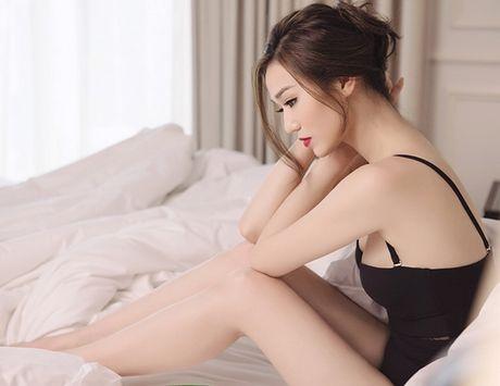 Khanh My khoe dang goi cam voi noi y ren - Anh 8