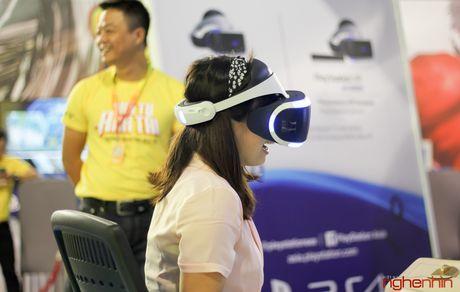 Kinh thuc te ao Playstation VR gay sot tai Sony Show Ha Noi - Anh 11