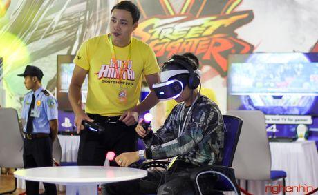Kinh thuc te ao Playstation VR gay sot tai Sony Show Ha Noi - Anh 12