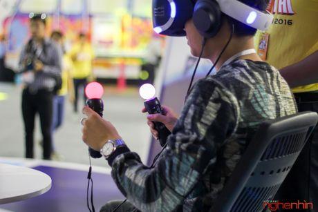 Kinh thuc te ao Playstation VR gay sot tai Sony Show Ha Noi - Anh 13