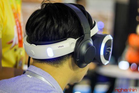 Kinh thuc te ao Playstation VR gay sot tai Sony Show Ha Noi - Anh 14