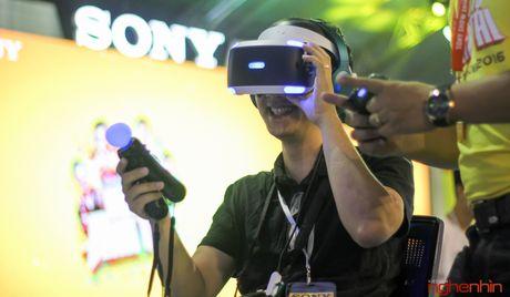 Kinh thuc te ao Playstation VR gay sot tai Sony Show Ha Noi - Anh 15