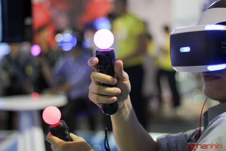 Kinh thuc te ao Playstation VR gay sot tai Sony Show Ha Noi - Anh 16