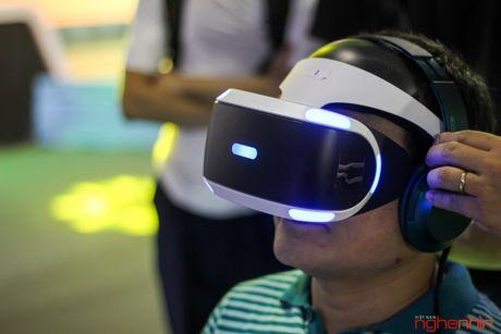 Kinh thuc te ao Playstation VR gay sot tai Sony Show Ha Noi - Anh 2