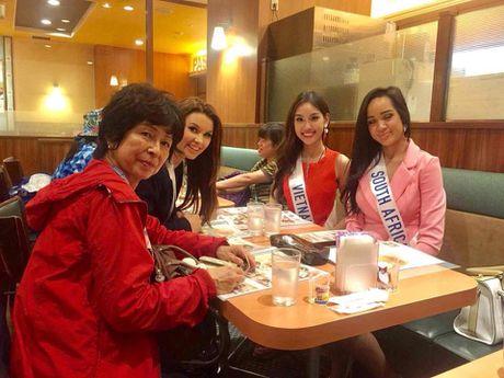 'Bong hoa nho' Phuong Linh toa sang tai Hoa hau Quoc te 2016 - Anh 9