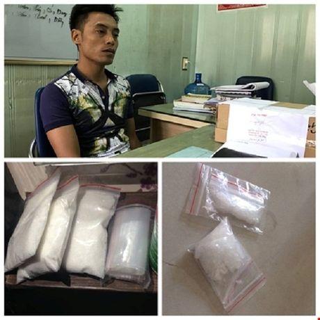 Bat trum giang ho Hai Phong thu 1,18 kg ma tuy - Anh 1