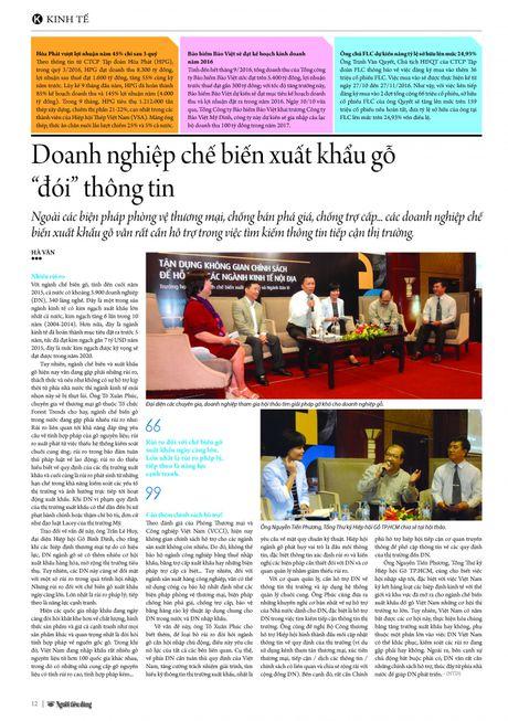 "Doanh nghiep che bien xuat khau go ""doi"" thong tin - Anh 3"