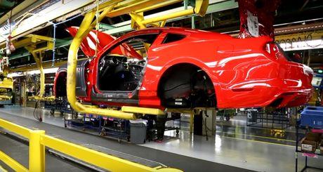 Ford dung san xuat xe co bap Mustang - Anh 1