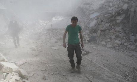 Assad the dung Aleppo lam ban dap giet het khung bo - Anh 1