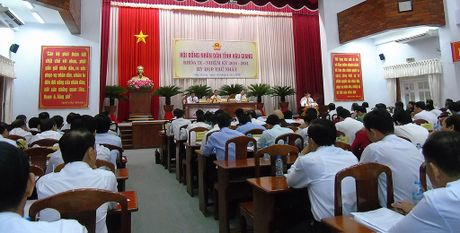 Hau Giang chan chinh le loi lam viec - Anh 1