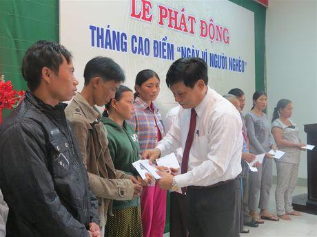 Thua Thien Hue: Tren 670 trieu ung ho 'Ngay vi nguoi ngheo' - Anh 1