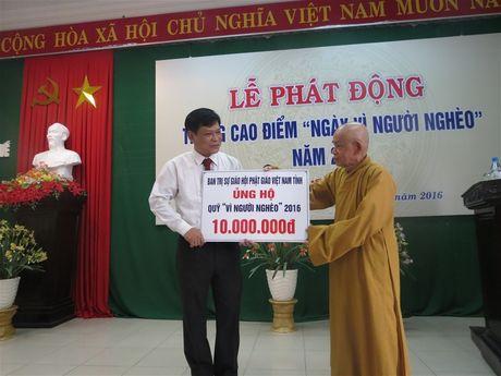 Thua Thien Hue: Tren 670 trieu ung ho 'Ngay vi nguoi ngheo' - Anh 3
