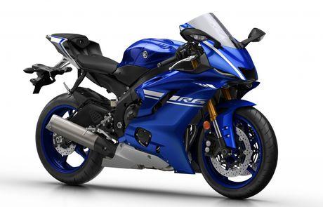 Yamaha gioi thieu sieu moto R6 2017 - Anh 1
