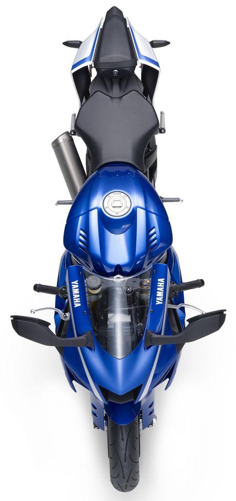 Yamaha gioi thieu sieu moto R6 2017 - Anh 5