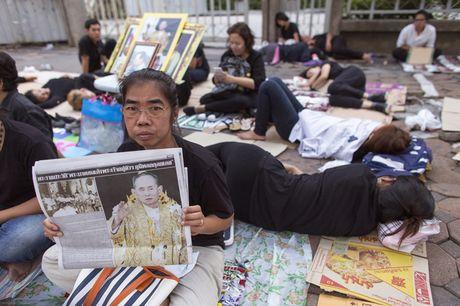 Nguoi Thai vay quanh Hoang cung don linh cuu nha vua - Anh 5