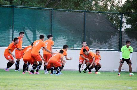 U19 VN vs Trieu Tien (0-0, H1): Van Hao sut trung cot - Anh 1