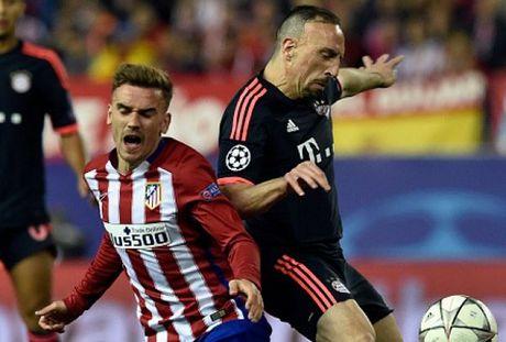 Hang hot Griezmann cuoi nhat, dap tra che bai cua Ribery - Anh 1