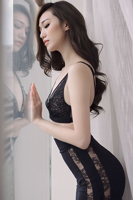 Khanh My pho duong cong cuc sexy voi noi y - Anh 6