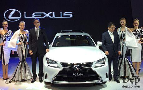 Bo tu Lexus Turbo: khi ca tinh duoc 'tang ap' - Anh 1