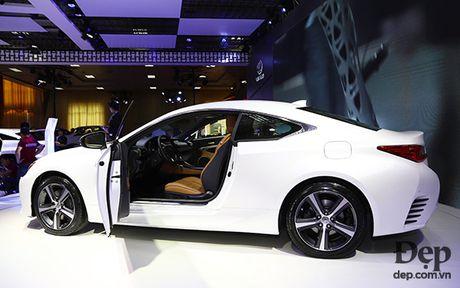 Bo tu Lexus Turbo: khi ca tinh duoc 'tang ap' - Anh 3