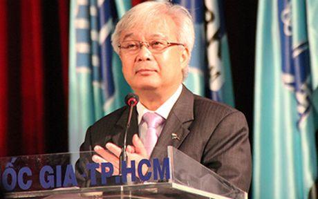 Ong Phan Thanh Binh thoi giu chuc Giam doc Dai hoc Quoc gia TPHCM - Anh 1