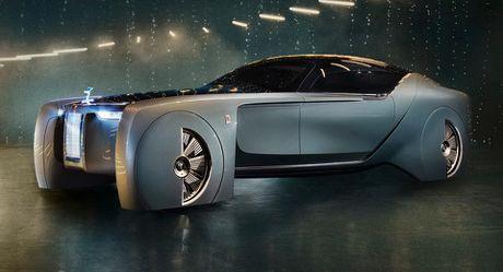 Rolls Royce 103EX Concept tu dong hang sang - Mau xe den tu tuong lai - Anh 1