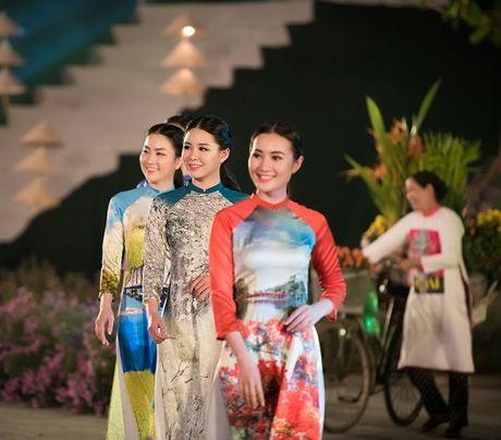Nghe si, giai nhan Viet rang ro tray hoi ao dai Ha Noi - Anh 17