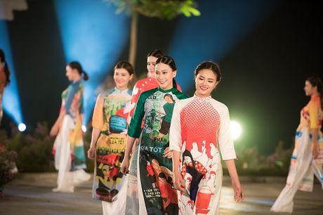 Nghe si, giai nhan Viet rang ro tray hoi ao dai Ha Noi - Anh 23