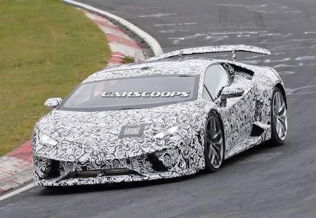 Sieu xe 'khung' Lamborghini Huracan Superleggera lo dien - Anh 1