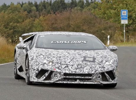 Sieu xe 'khung' Lamborghini Huracan Superleggera lo dien - Anh 2