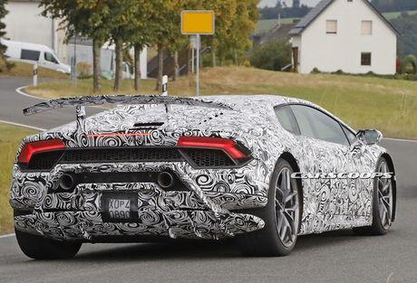 Sieu xe 'khung' Lamborghini Huracan Superleggera lo dien - Anh 4
