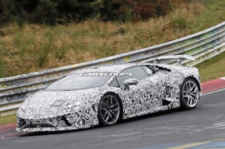 Sieu xe 'khung' Lamborghini Huracan Superleggera lo dien - Anh 5