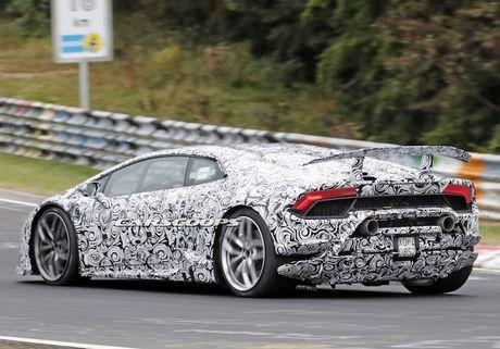 Sieu xe 'khung' Lamborghini Huracan Superleggera lo dien - Anh 6