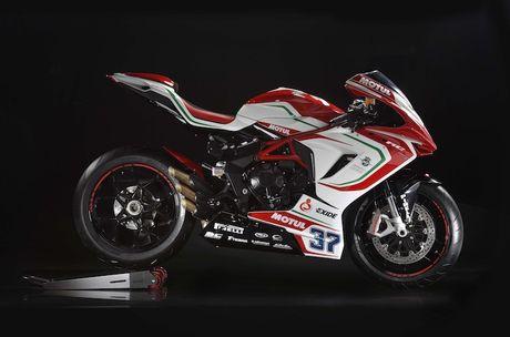 Can canh 'xe dua' MV Agusta F3 RC gia 352 trieu - Anh 3