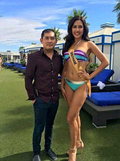 Nguyen Thi Loan 'nong bong' trong phan thi bikini tai Hoa hau Hoa binh Quoc te 2016 - Anh 2