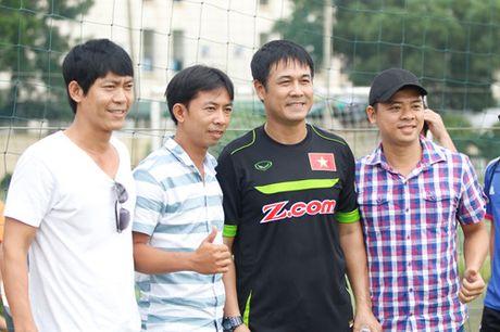 Tien Dung tap buoi dau, HLV Huu Thang thay doi ke hoach phut chot - Anh 3