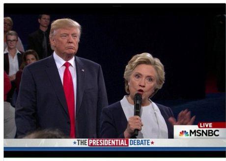 "Ba Clinton bat ngo trai long ve su ""rinh rap"" cua ong Trump - Anh 3"