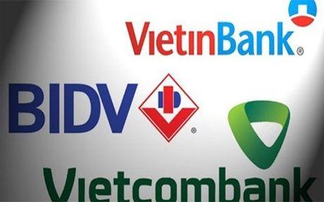 BIDV, VietinBank, Vietcombank, khi thoi gian khong doi - Anh 1