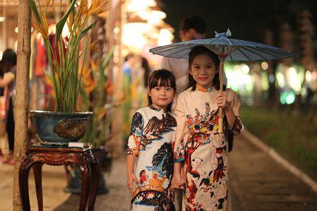 Nhung bo tac pham tuyet dep cua Hoa hau Ngoc Han trong Festival Ao dai - Anh 6